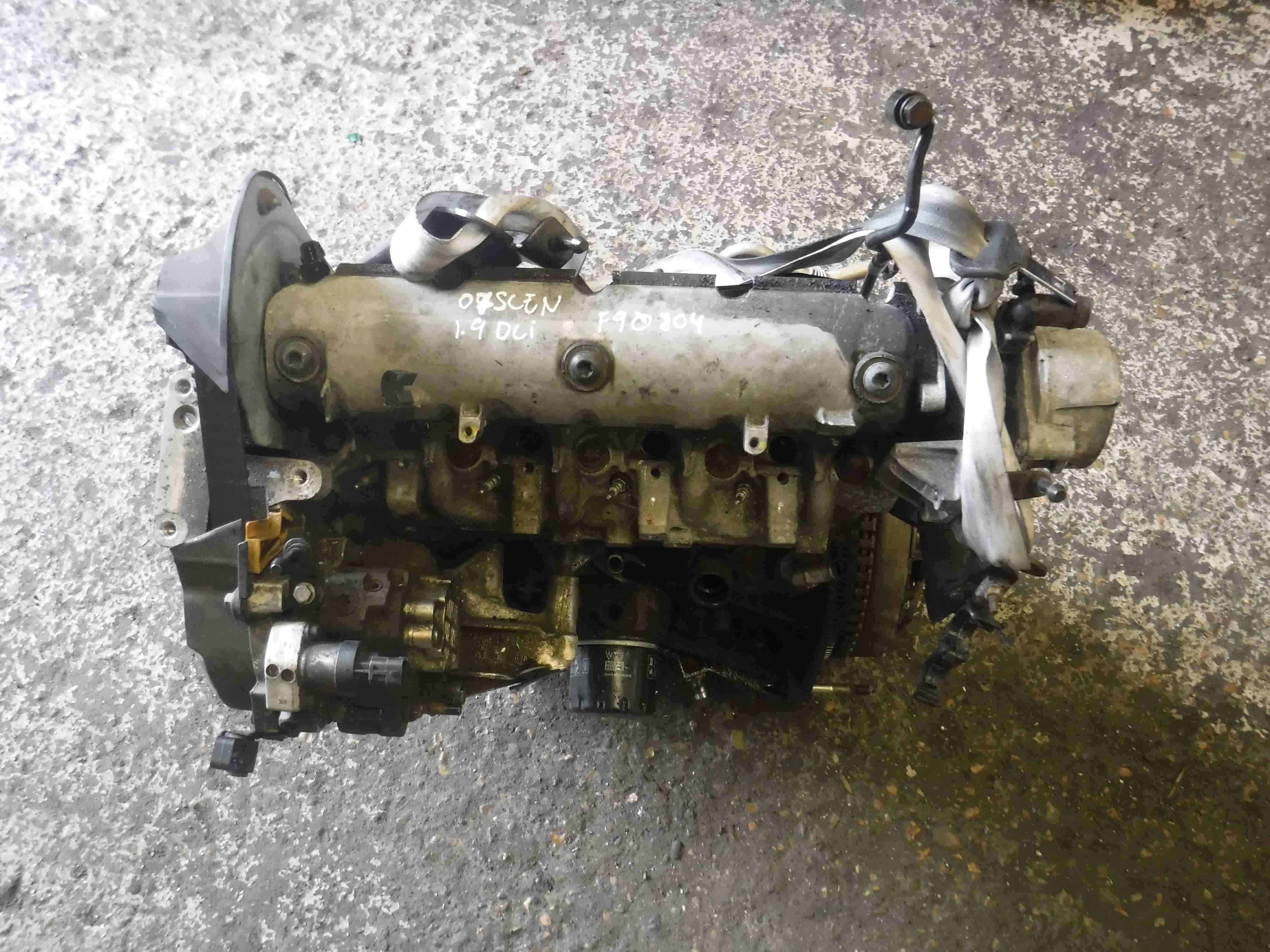 Renault Megane 2004-2009 1.9 dCi Engine F9Q 804 fq9804