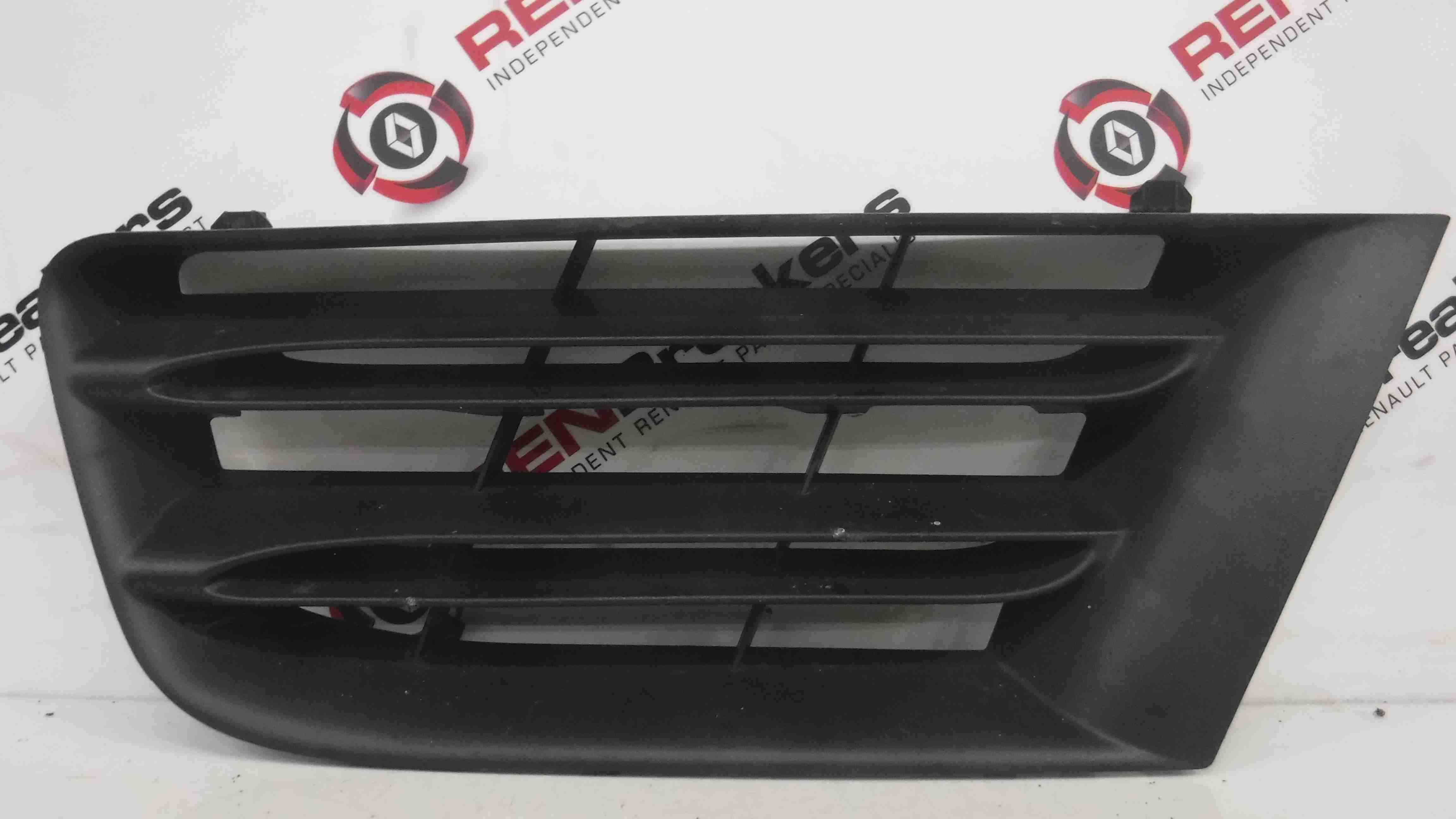 Renault Scenic 2006-2009 Passenger NSF Front Bumper Grill Grille Insert 1013577
