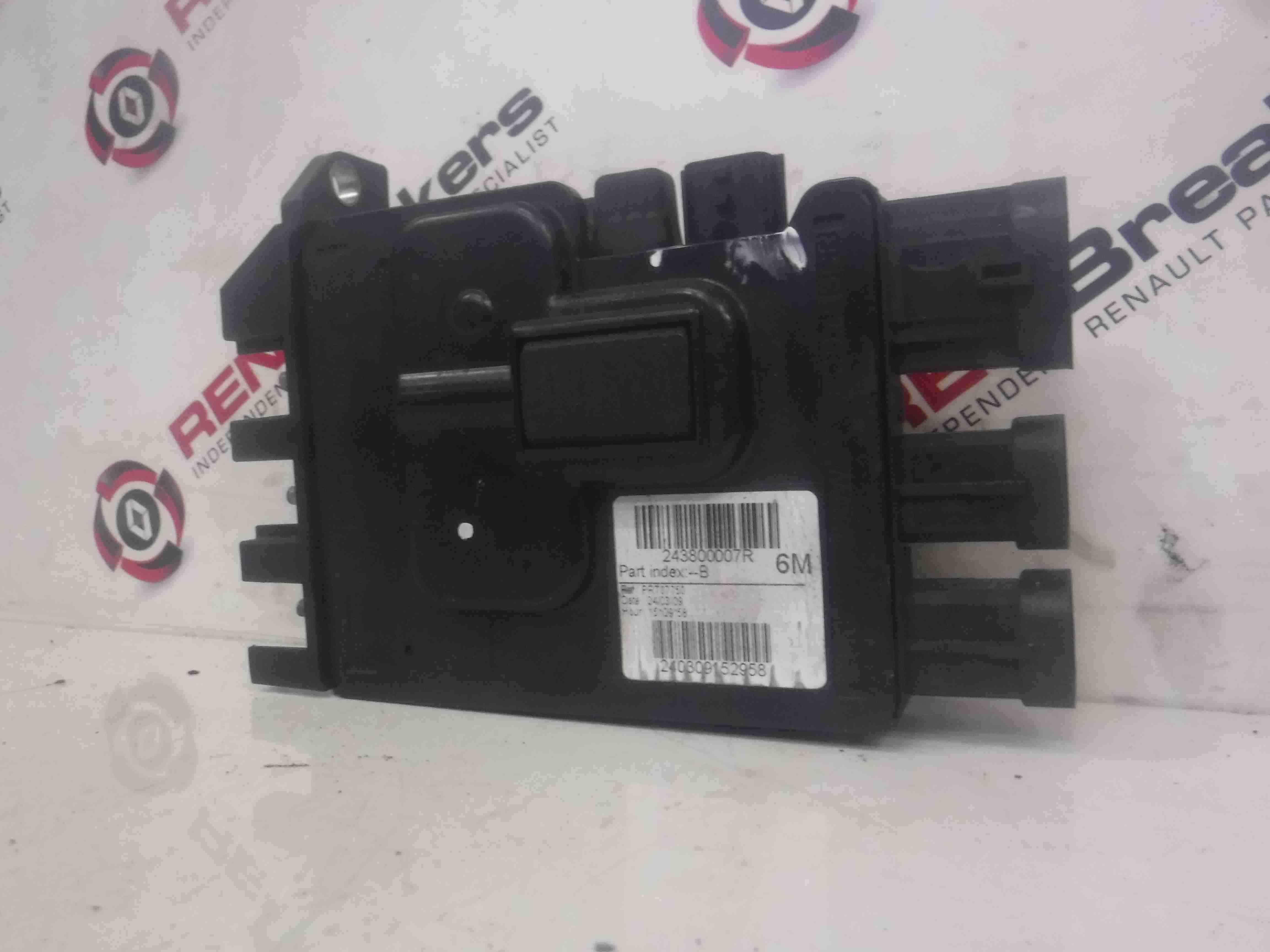Renault Scenic MK3 2009-2016 Battery Control Unit 243800007R