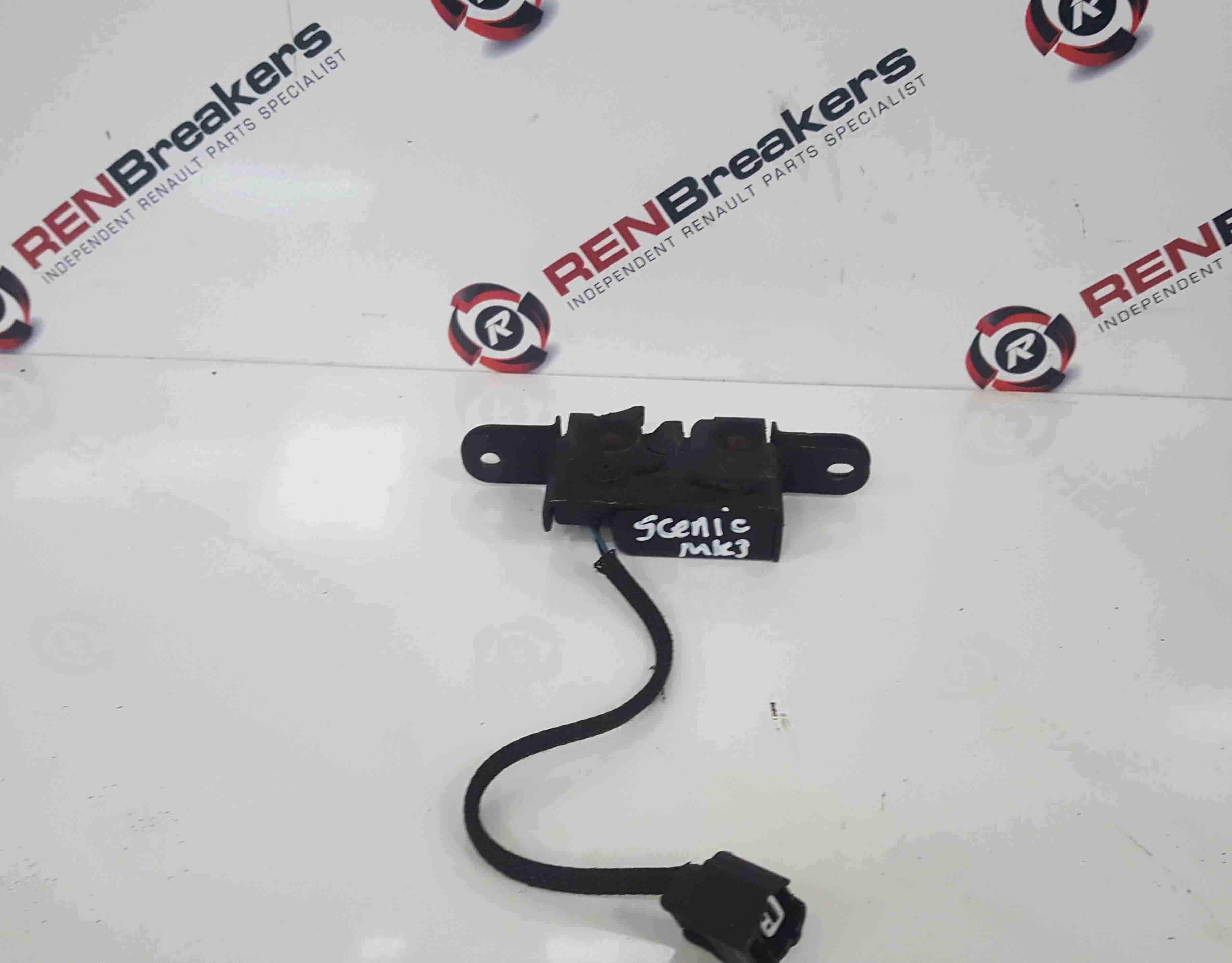 Renault Scenic MK3 2009-2016 Bonnet Lock Latch Catch Mechanism With Plug