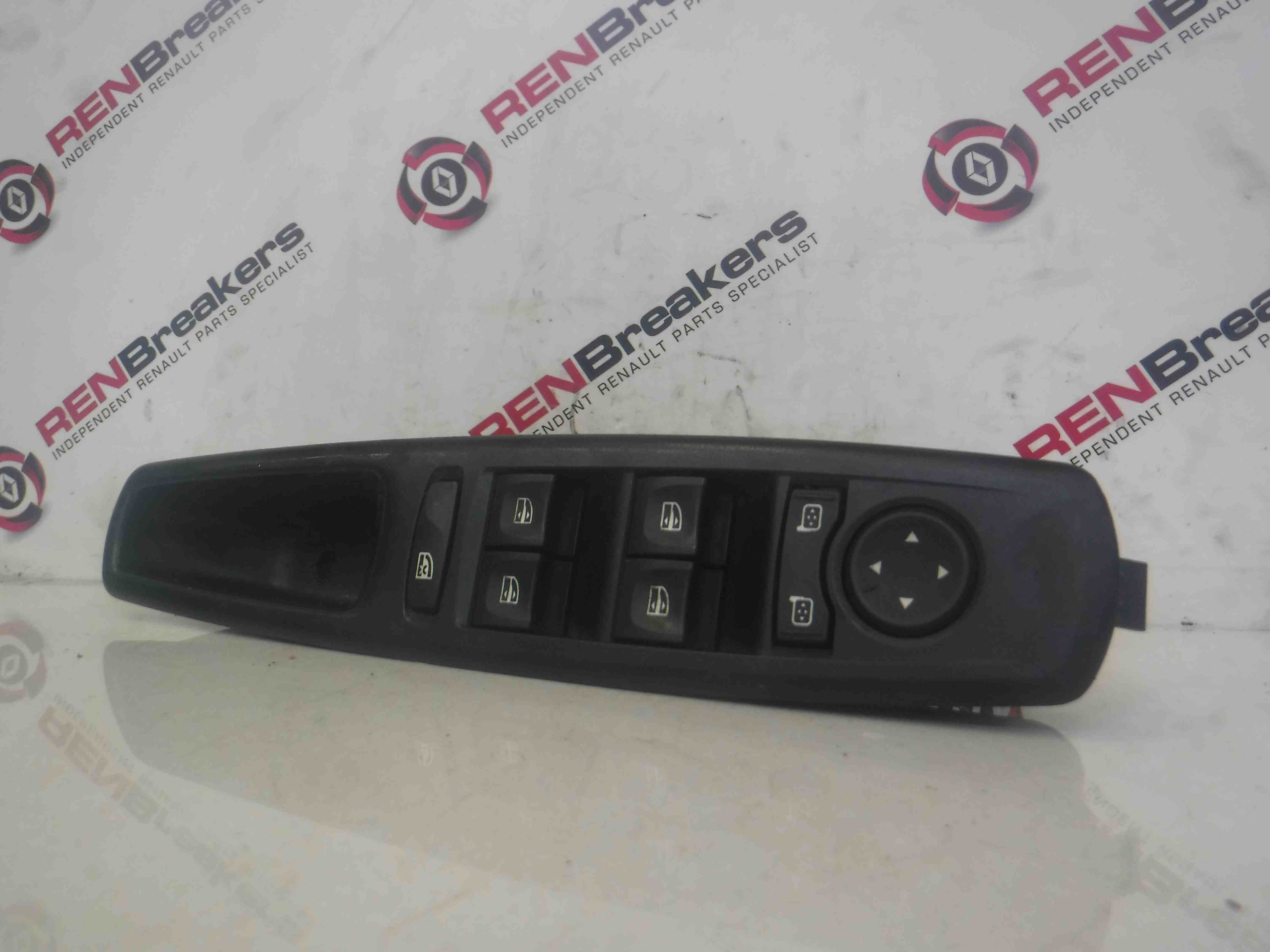 Renault Scenic Megane MK3 2009-2016 Drivers OSF Front Window Switch Panel Mirror