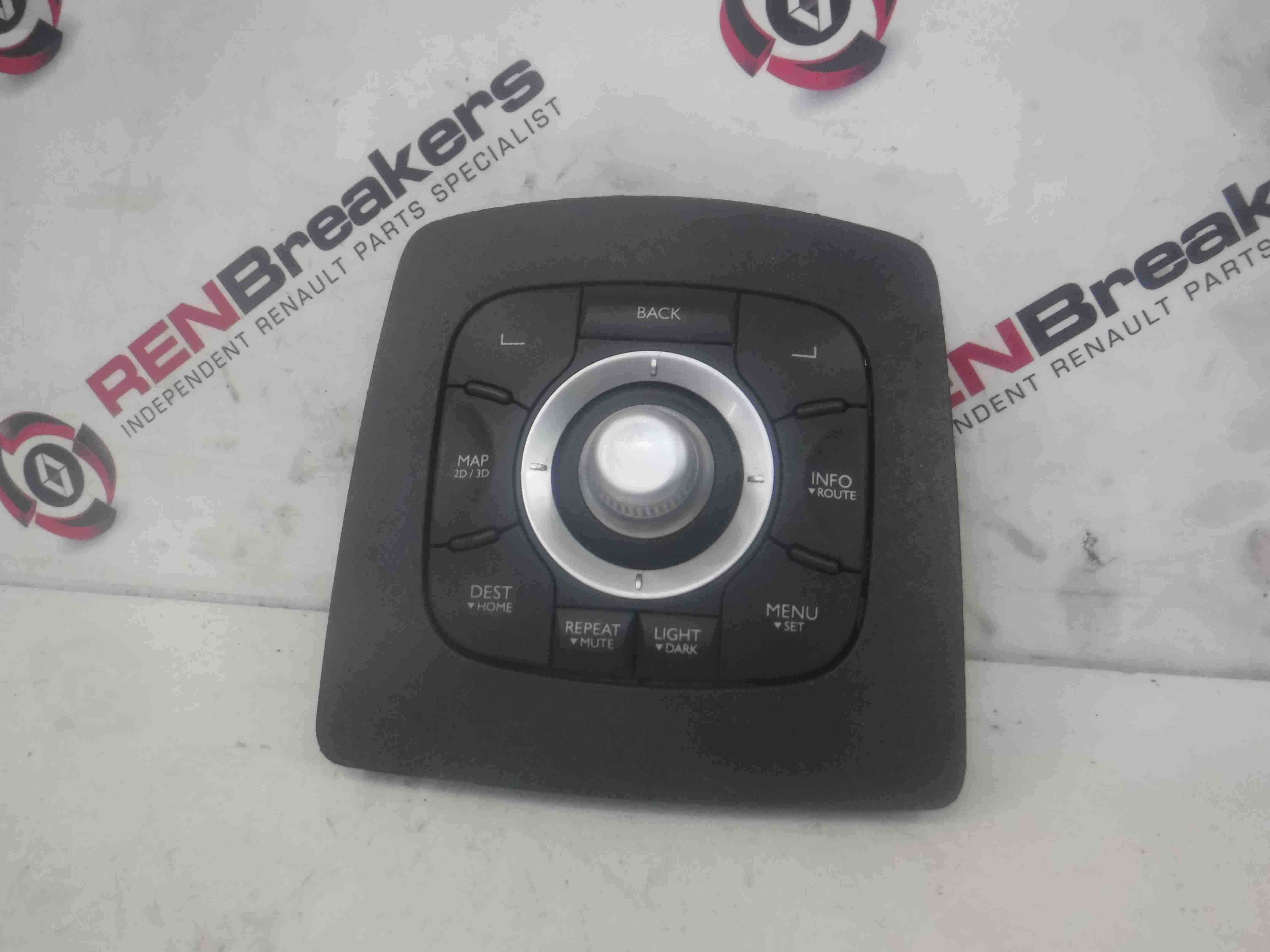 Renault Scenic MK3 2009-2016 Sat Nav Multi Media Controls Switch Unit 253B00345R