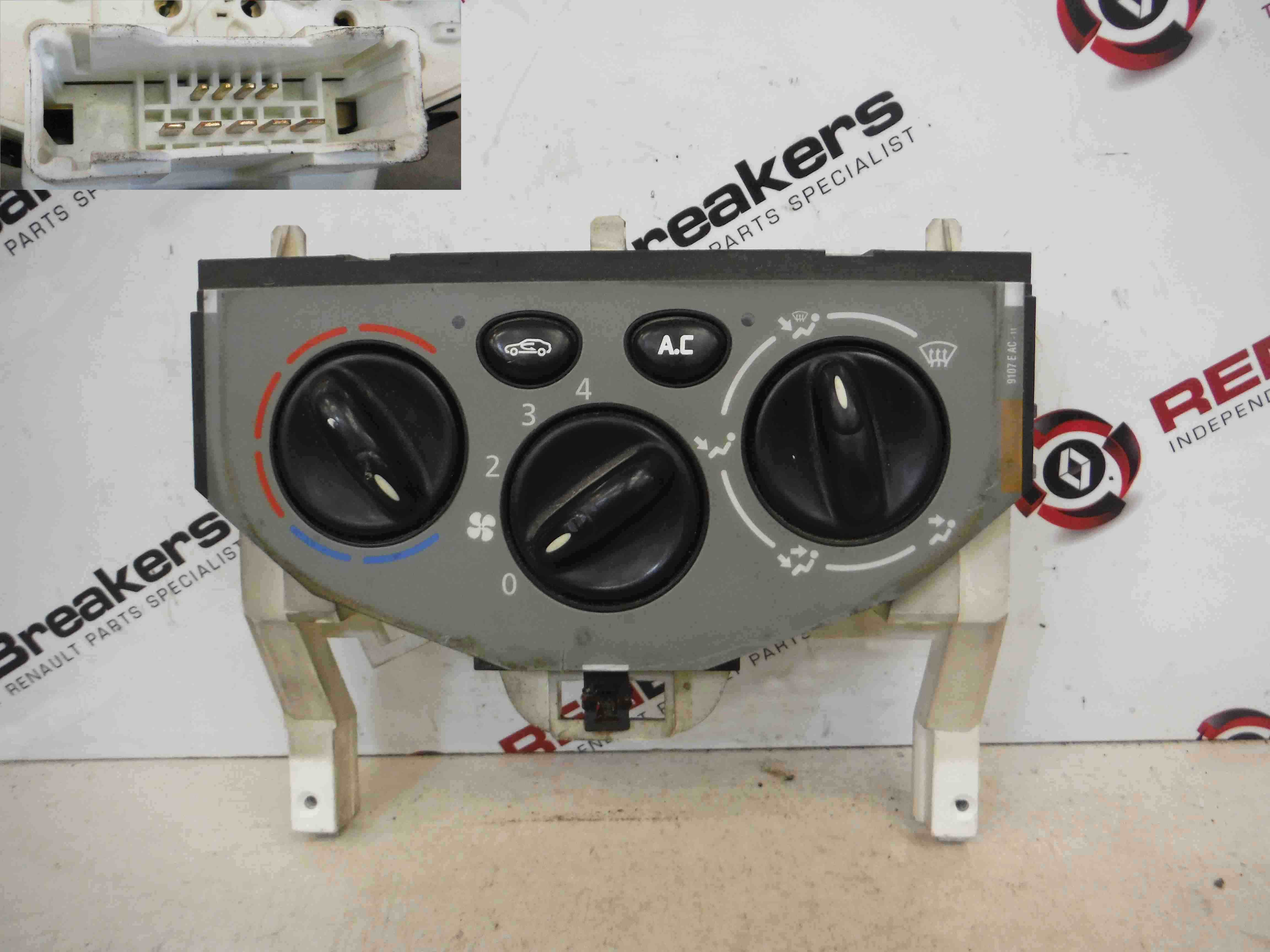 Renault Trafic 2001-2014 Heater Controls Dials Gauges Aircon
