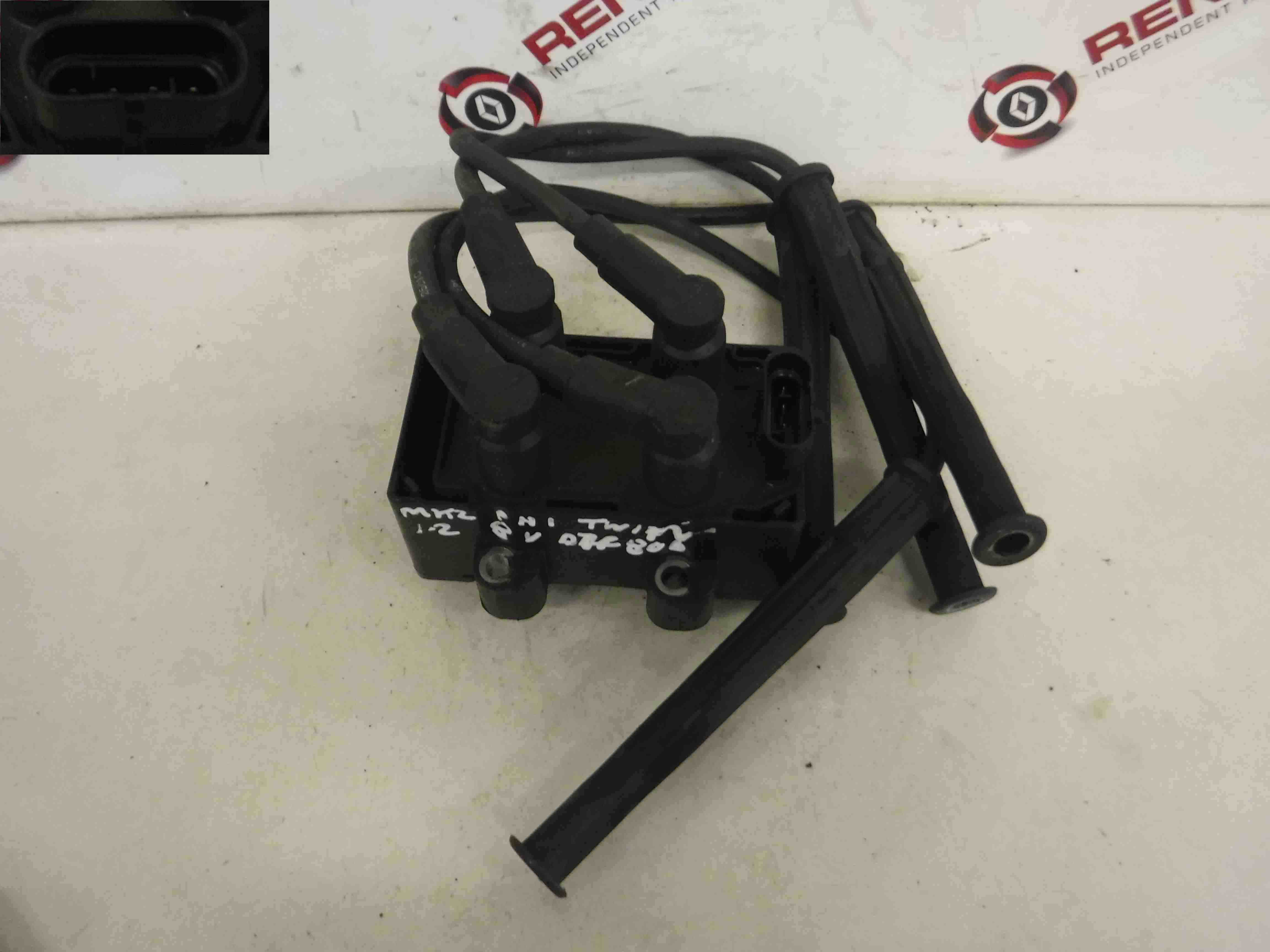 Renault Twingo 2007-2011 1.2 8v Ignition Coil Pack + Leads 7700274008 7700873701