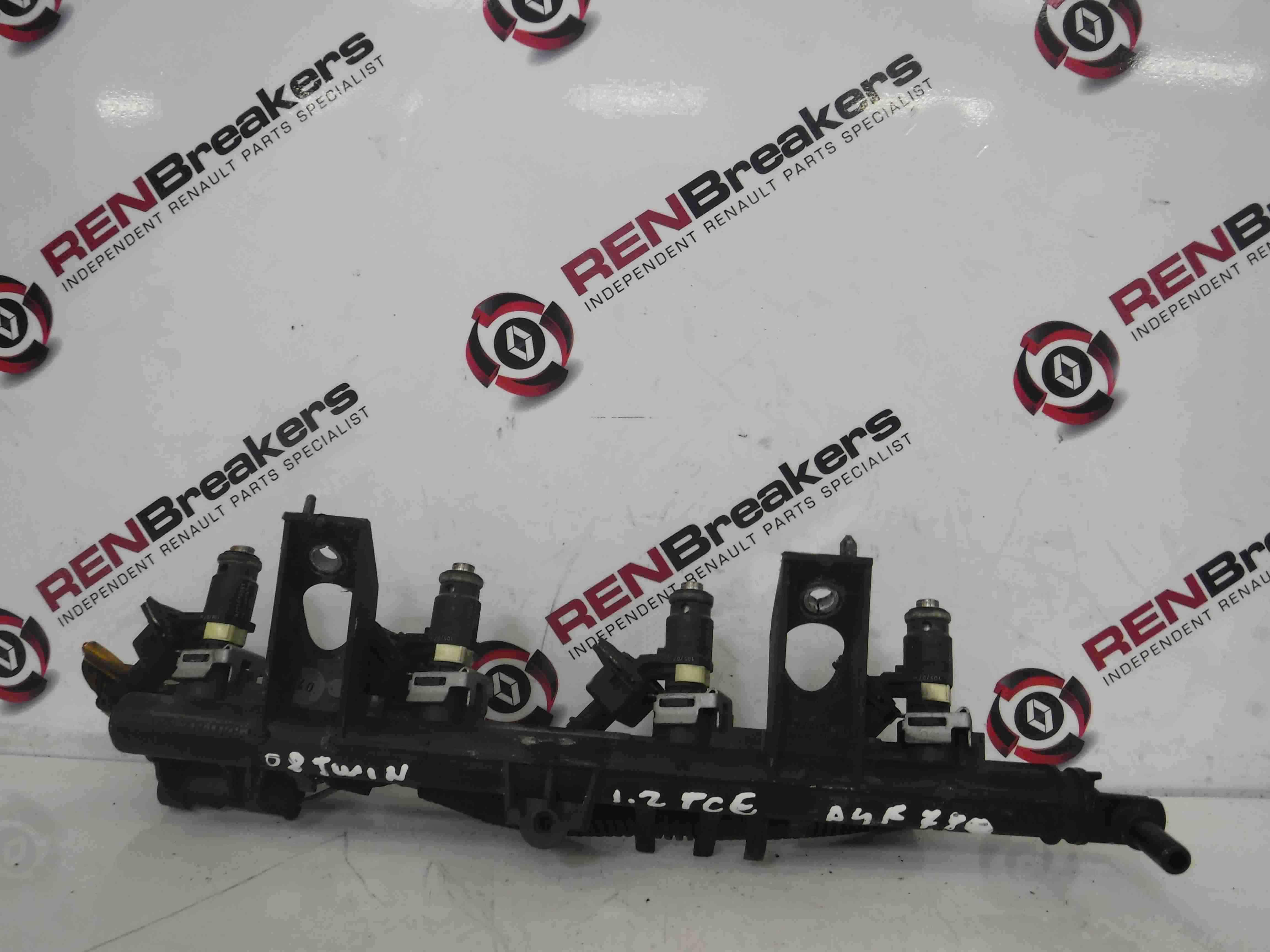 Renault Twingo 2007-2011 Fuel Injectors + Rail D4F 780 8200654541