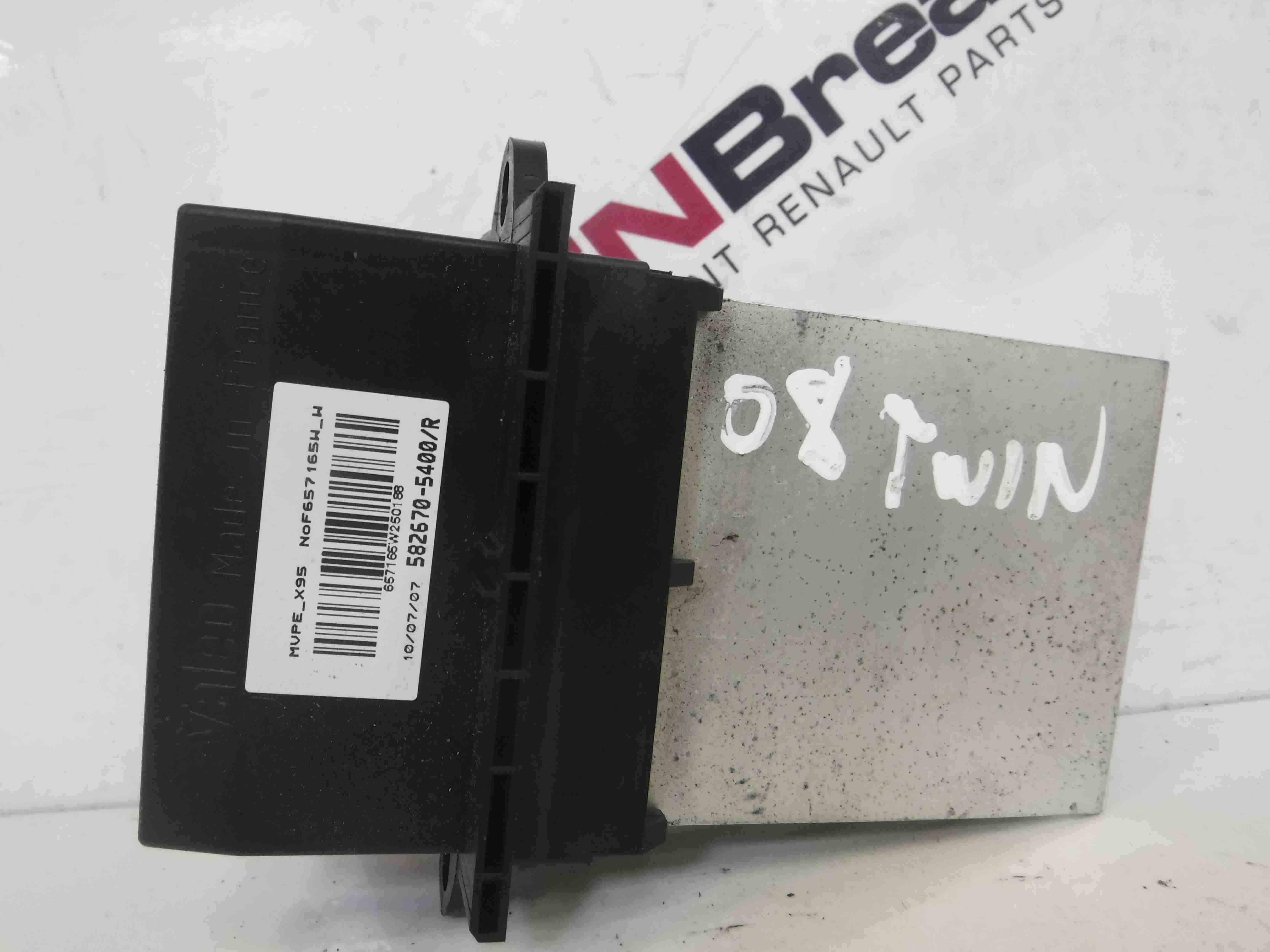 Renault Twingo 2007-2011 Heater Resistor Climate Control 5826705400R