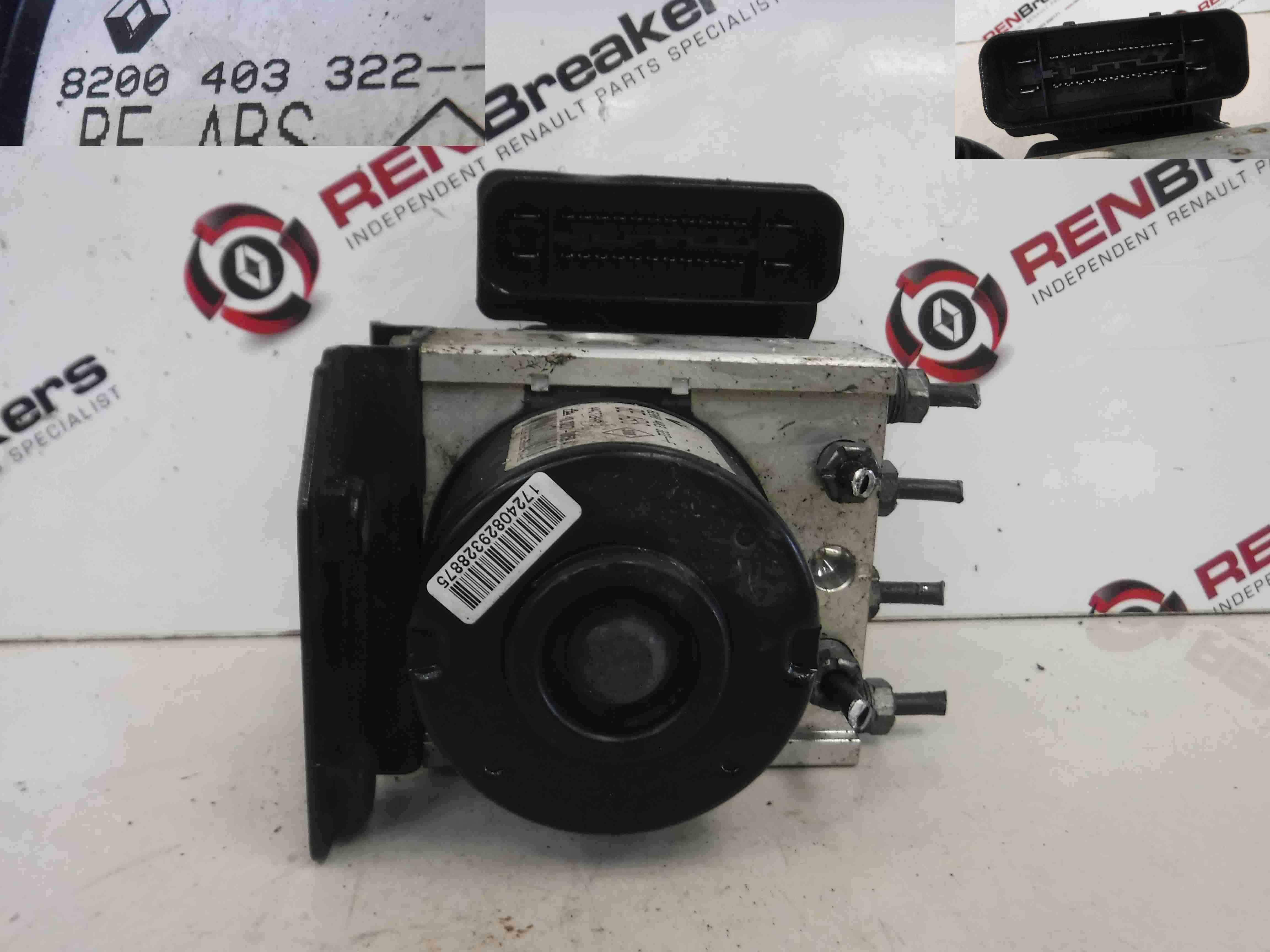 Renault Twingo 2007-2011 ABS Pump Unit 8200403322