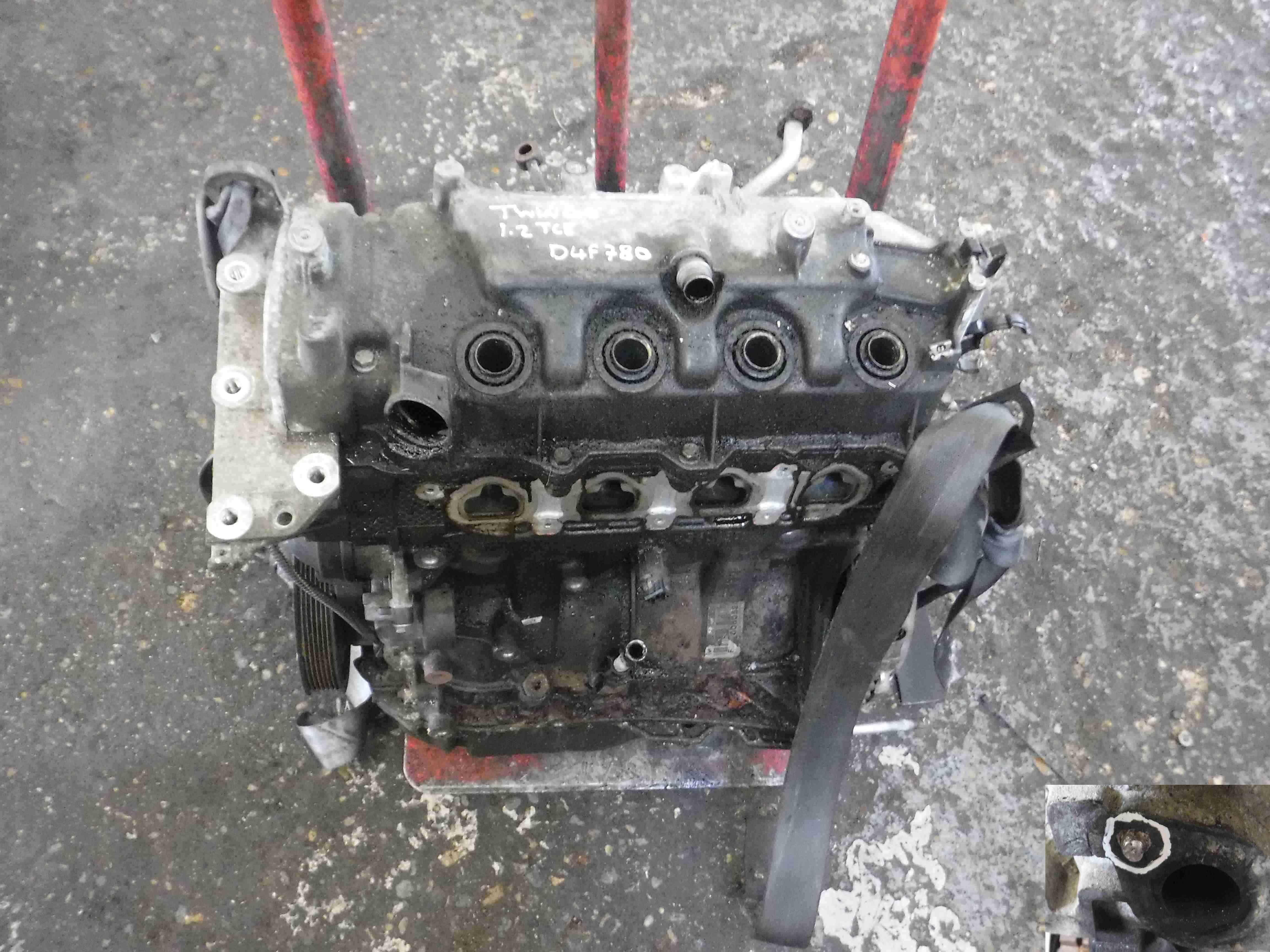 Renault Twingo 2007-2011 1.2 TCE Turbo Engine D4F 780 *3 Months Warranty* d4f780