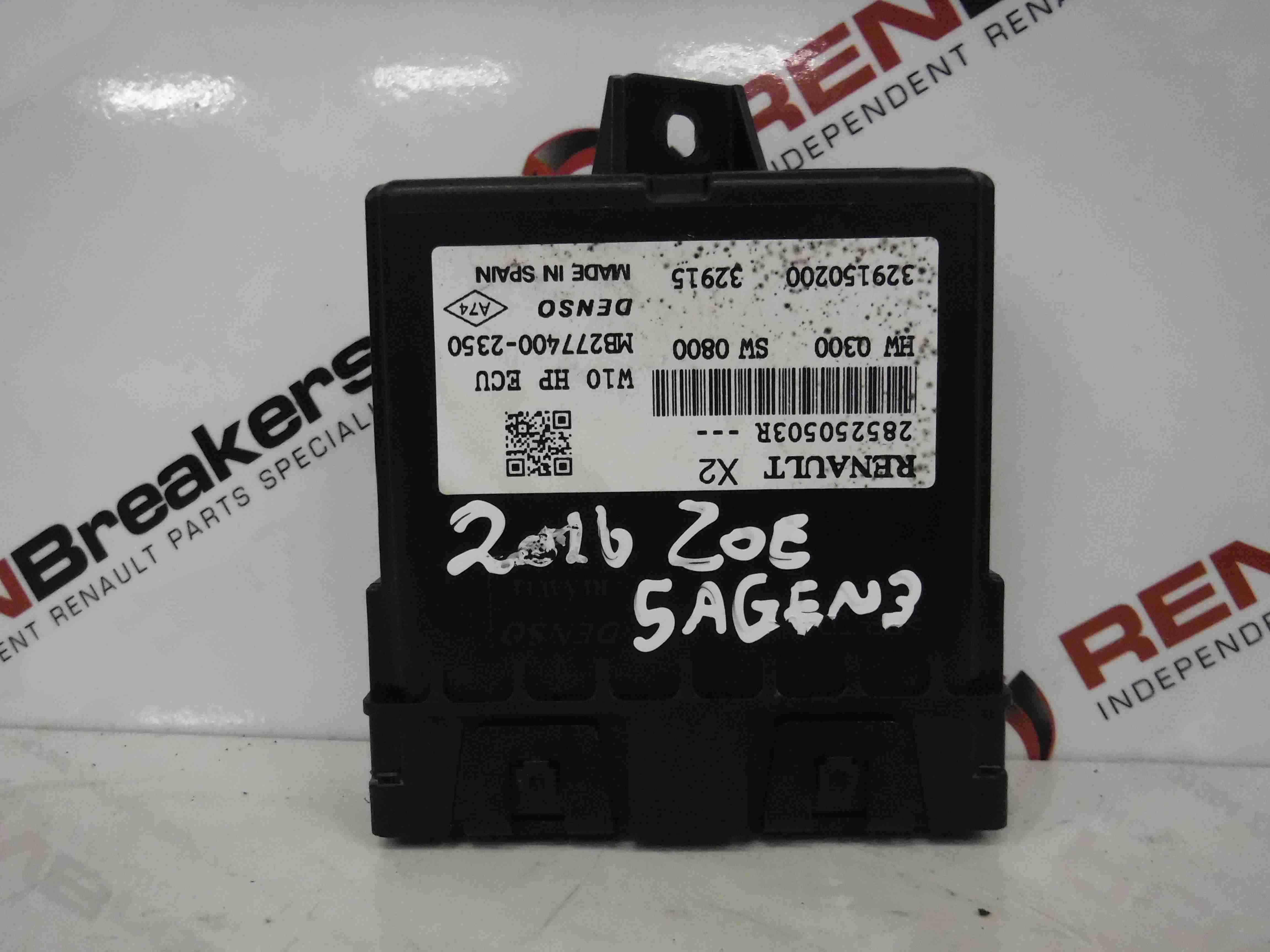 Renault Zoe 2012-2016 Air Conditioning ECU Module Climate 285250503R
