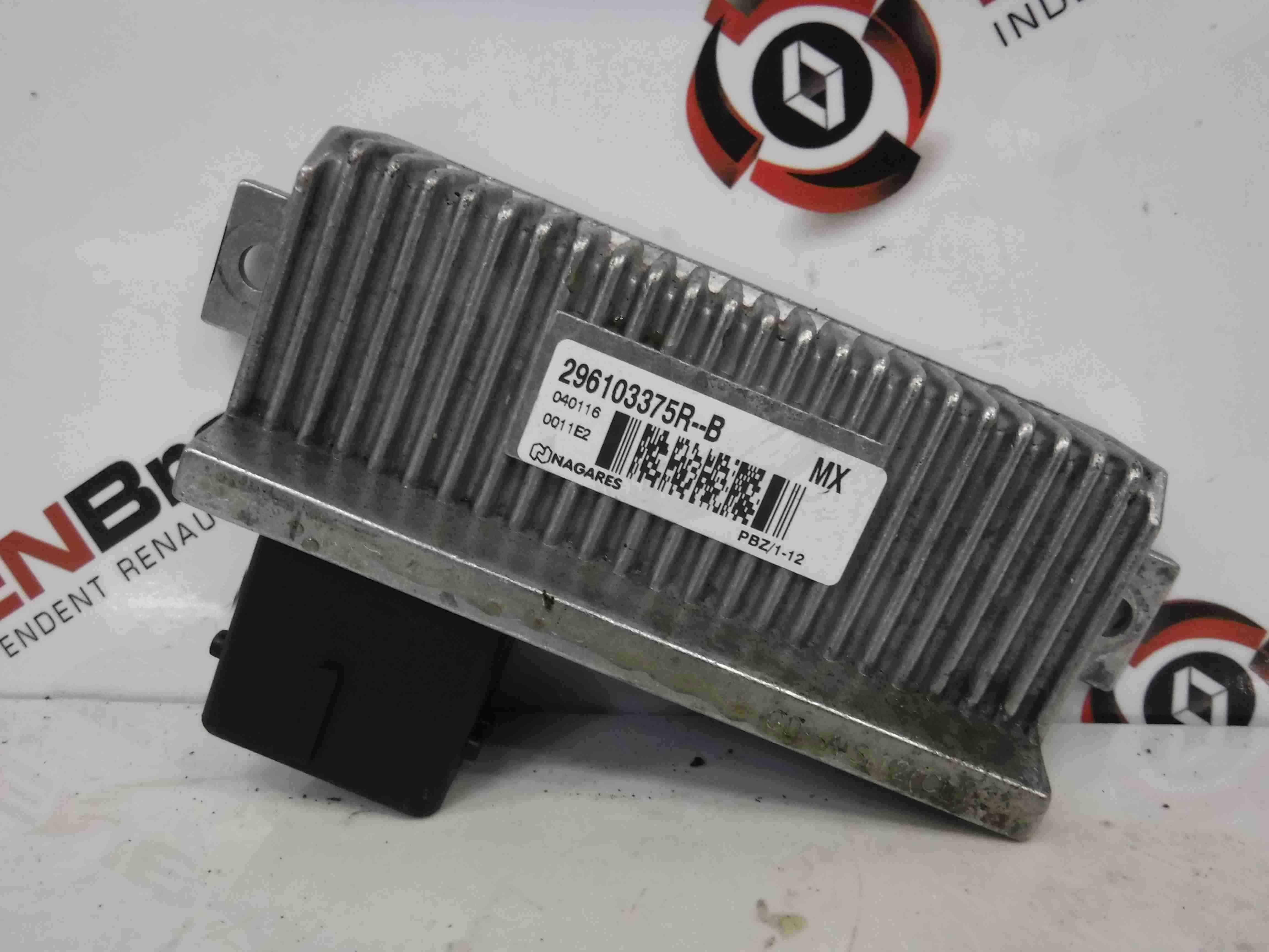 Renault Zoe 2012-2016 Electric Electronic Relay Module 296103375R