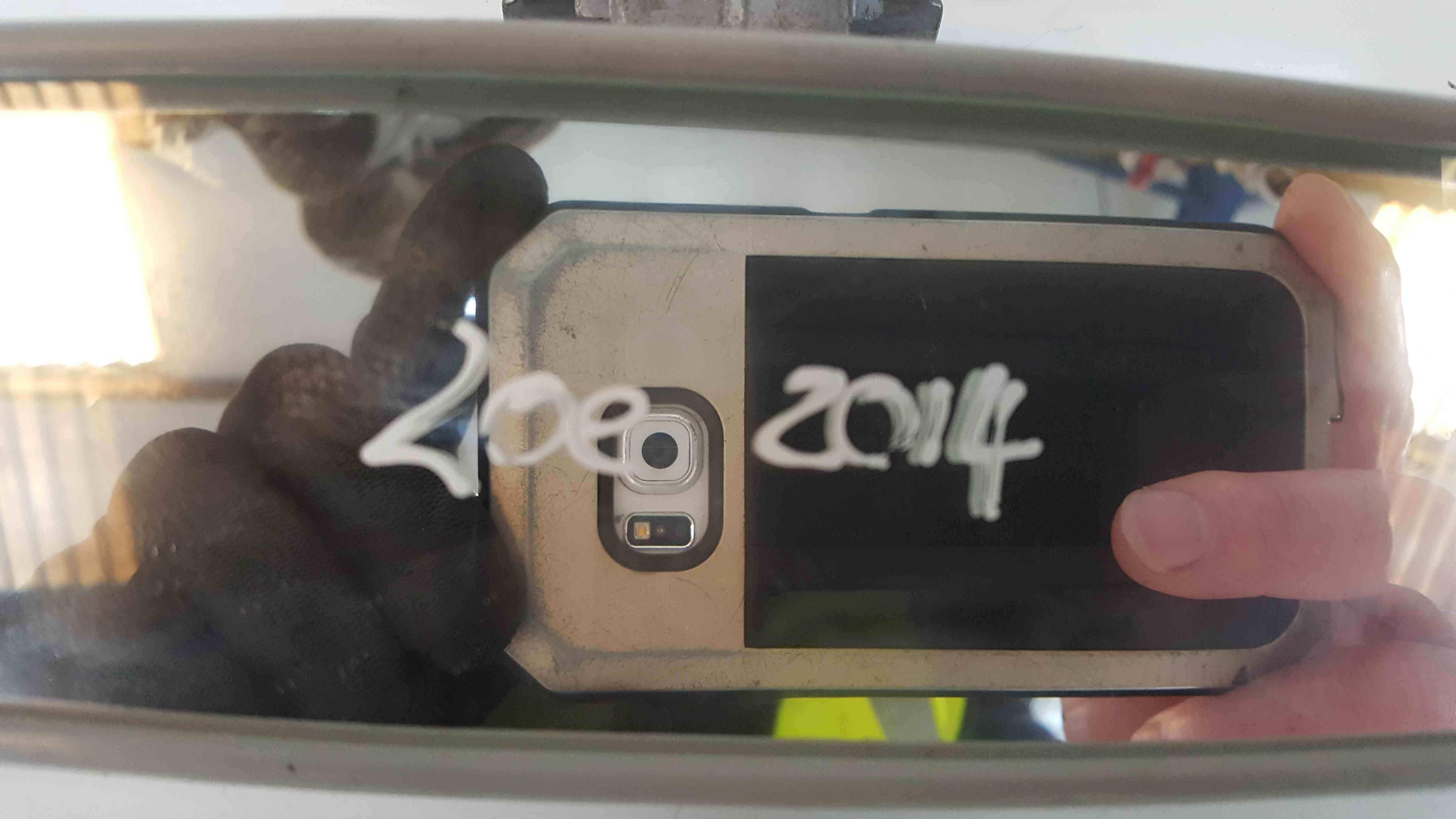 Renault Zoe 2012-2016 Rear View Mirror