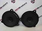 Renault Captur 2013-2015 Drivers Passenger Speakers X2