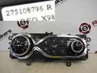 Renault Captur 2013-2015 Heater Blower Controls Dials Clocks Gauges