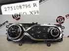 Renault Captur 2013-2015 Heater Blower Controls Dials Clocks Gauges