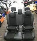 Renault Clio Estate MK3 2005-2012 Half Leather Interior Set Seats Chairs Black
