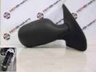 Renault Clio MK2 2001-2006 Drivers OS Wing Mirror Plain Black Electric