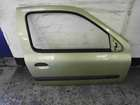 Renault Clio MK2 2001-2006 Drivers OSF Front Door Green Yellow TED99 3dr