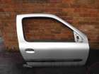 Renault Clio MK2 2001-2006 Drivers OSF Front Door Silver TED69 3dr