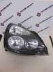 Renault Clio MK2 2001-2006 Drivers OSF Front Headlight Black Backing