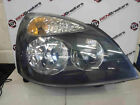 Renault Clio MK2 2001-2006 Drivers OSF Front Headlight Lens Lamp BLACK BACKING