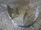 Renault Clio MK2 2001-2006 Drivers OSF Front Wheel Arch Liner Dirt Guard