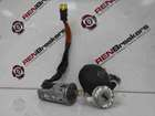 Renault Clio MK2 2001-2006 Ignition Barrel Door Lock Petrol Cover  Key Set