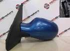Renault Clio MK2 2001-2006 Passenger NS Wing Mirror Blue TED48