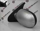 Renault Clio MK2 2001-2006 Passenger NS Wing Mirror Silver TED69 MANUAL