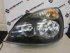 Renault Clio MK2 2001-2006 Passenger NSF Front Headlight Black Backing