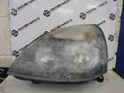Renault Clio MK2 2001-2006 Passenger NSF Front Headlight Black Backing Cloudy