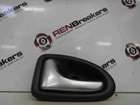 Renault Clio MK2 2001-2006 Passenger NSF Front Interior Door Handle Chrome