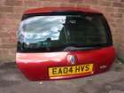 Renault Clio MK2 2001-2006 Rear Tailgate Boot Red TEB76