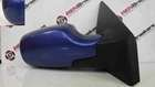 Renault Clio MK3 2005-2009 Drivers OS Wing Mirror Blue TEI45 TE145