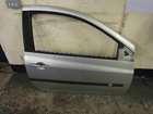 Renault Clio MK3 2005-2009 Drivers OSF Front Door Silver TED69 3dr