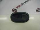 Renault Clio MK3 2005-2009 Drivers OSR Rear Door Handle Plain Black