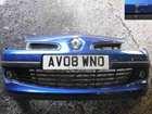Renault Clio MK3 2005-2009 Front Bumper Blue TERNA 185