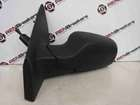 Renault Clio MK3 2005-2009 Passenger NS Wing Mirror Plain Black Manual