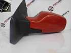 Renault Clio MK3 2005-2009 Passenger NS Wing Mirror Red TED75