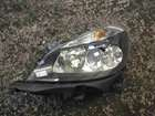 Renault Clio MK3 2005-2009 Passenger NSF Front Headlight Black Backing