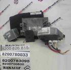 Renault Clio MK3 2005-2012 1.2 16v tCe ECU SET UCH Steering ECU BCM + Key Card