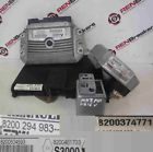 Renault Clio MK3 2005-2012 1.6 16v ECU SET UCH BCM Steering Lock + Key Card