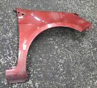 Renault Clio MK3 2005-2012 Drivers OS Wing Red TEB76 185