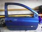 Renault Clio MK3 2005-2012 Drivers OSF Front Door Blue TERNA 3dr