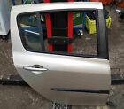 Renault Clio MK3 2005-2012 Drivers OSR Rear Door Gold Silver TED11
