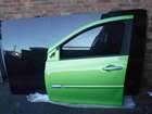Renault Clio MK3 2005-2012 Passenger NSF Front Door Green TEDNQ 5DR