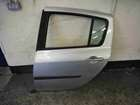 Renault Clio MK3 2005-2012 Passenger NSR Rear Door Silver TED69