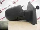 Renault Clio MK3 2009-2012 Drivers OS Wing Mirror Plain Black Manual