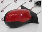Renault Clio MK3 2009-2012 Drivers OS Wing Mirror Red 727