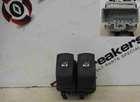 Renault Clio MK3 2009-2012 Dual Window Switch Grey Plug