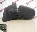 Renault Clio MK3 2009-2012 Passenger NS Wing Mirror Plain Black Manual